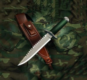 Jimmy Lile First Blood Knife & Sheath