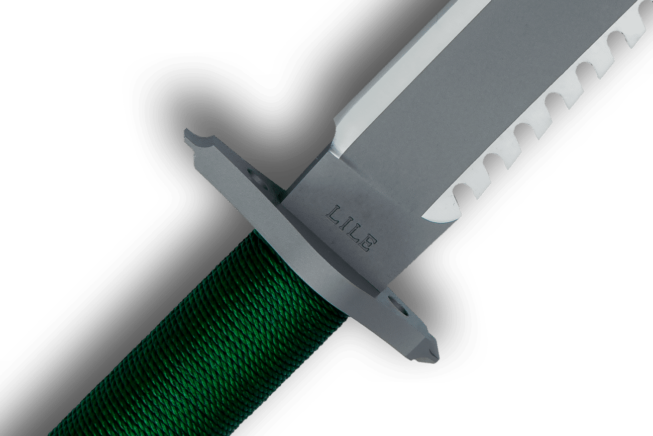 Trademarked Stamp on Lile Model FB Knife (Utility Series)