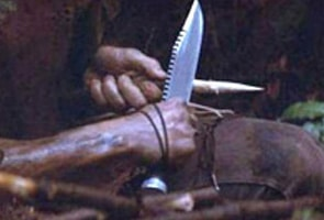 James B Lile made Rambo's Knife in First Blood
