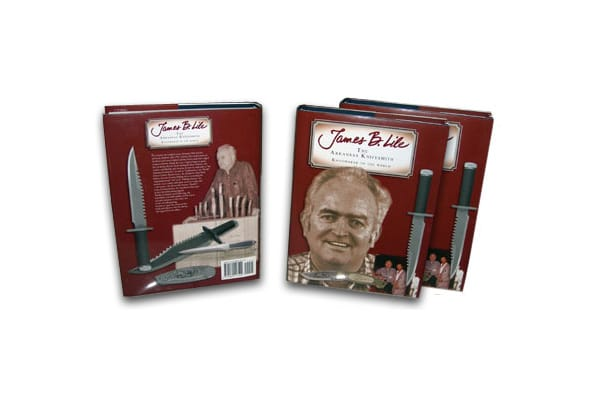 """James B. Lile: The Arkansas Knifesmith"" Standard Edition - Approx. 536 pages with 80 pages of full color."