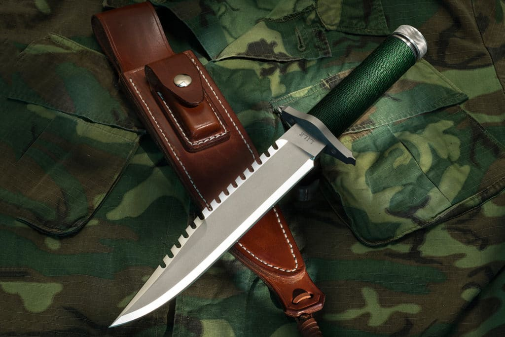 Lile FB Knife and Sheath from Rambo