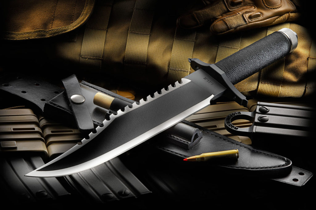 Jimmy Lile FB II Knife in Rambo II - The Mission Movie Style